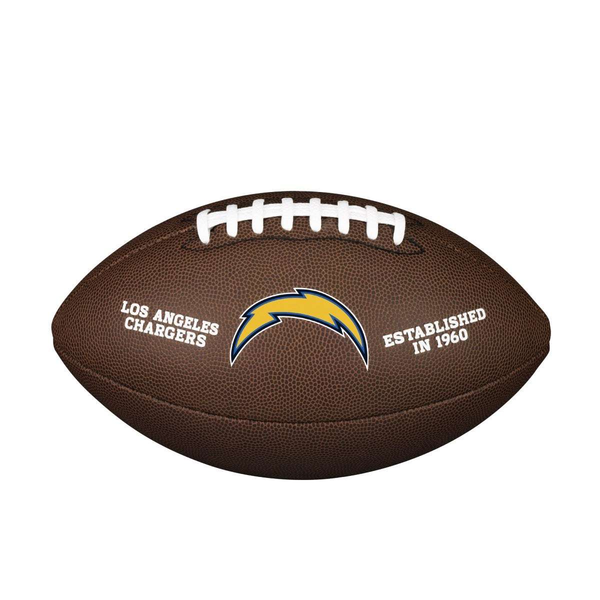 NFL Team Logo Composite Football - Official, Los Angeles Chargers