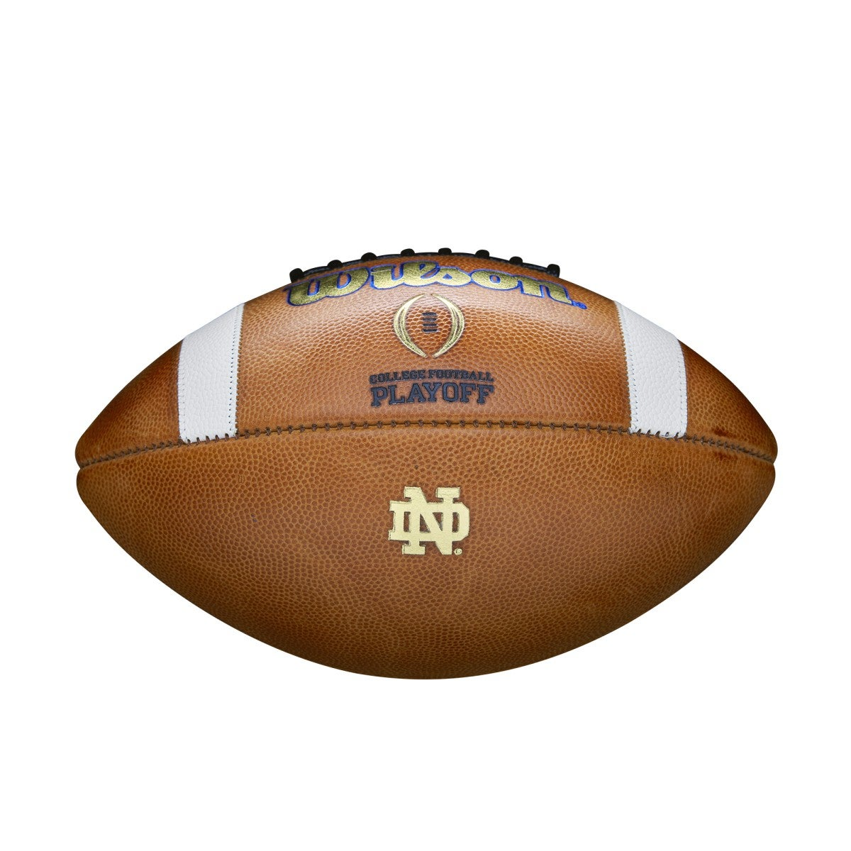 ? COLLEGE FOOTBALL PLAYOFF GAME BALL - OFFICIAL - NOTRE DAME