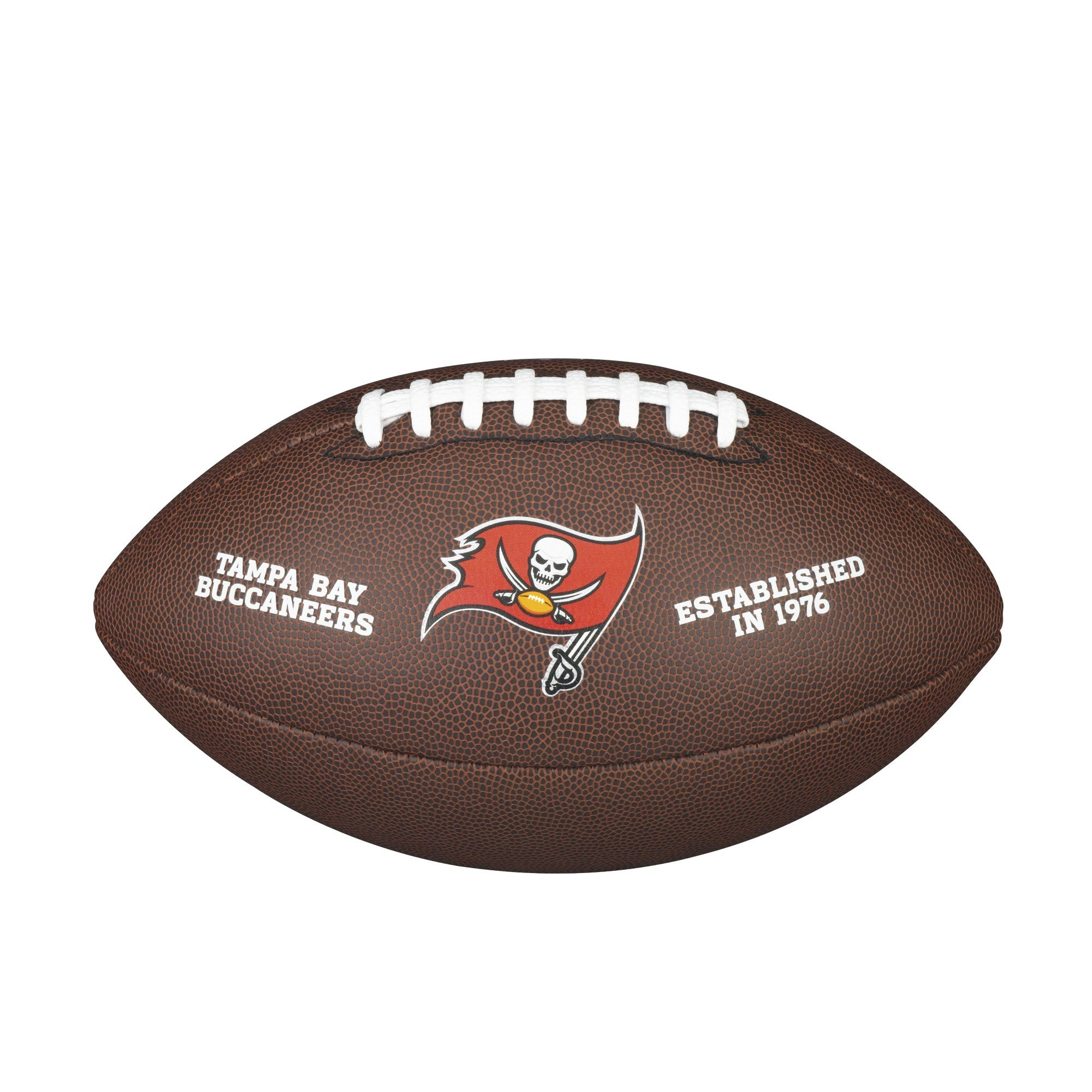 NFL TEAM LOGO COMPOSITE FOOTBALL - OFFICIAL, TAMPA BAY BUCCANEERS