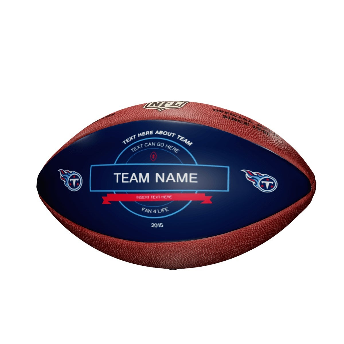 Personalized NFL Tennessee Titans Ultimate Fan Football