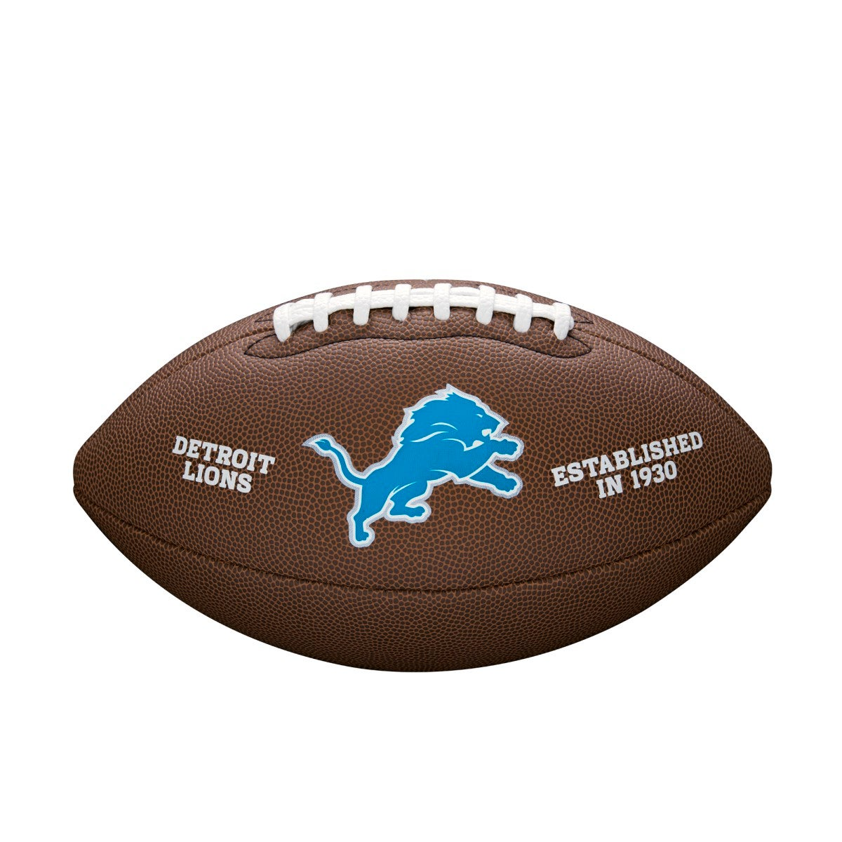 NFL TEAM LOGO COMPOSITE FOOTBALL - OFFICIAL, DETROIT LIONS