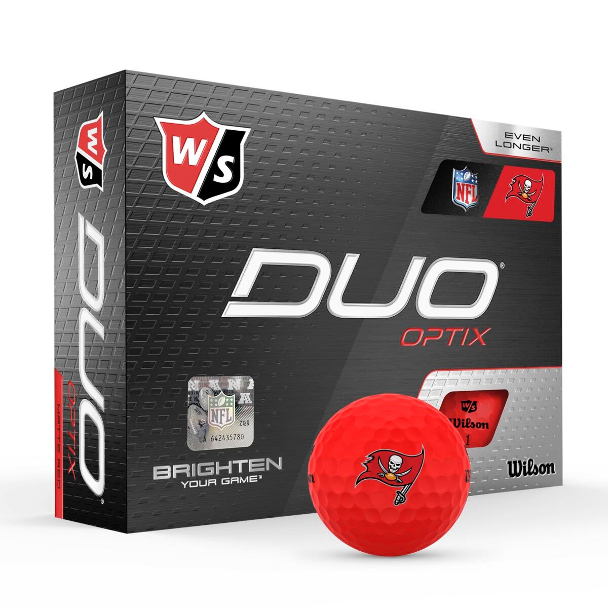 Tampa Bay Buccaneers - Duo Optix NFL Golf Balls