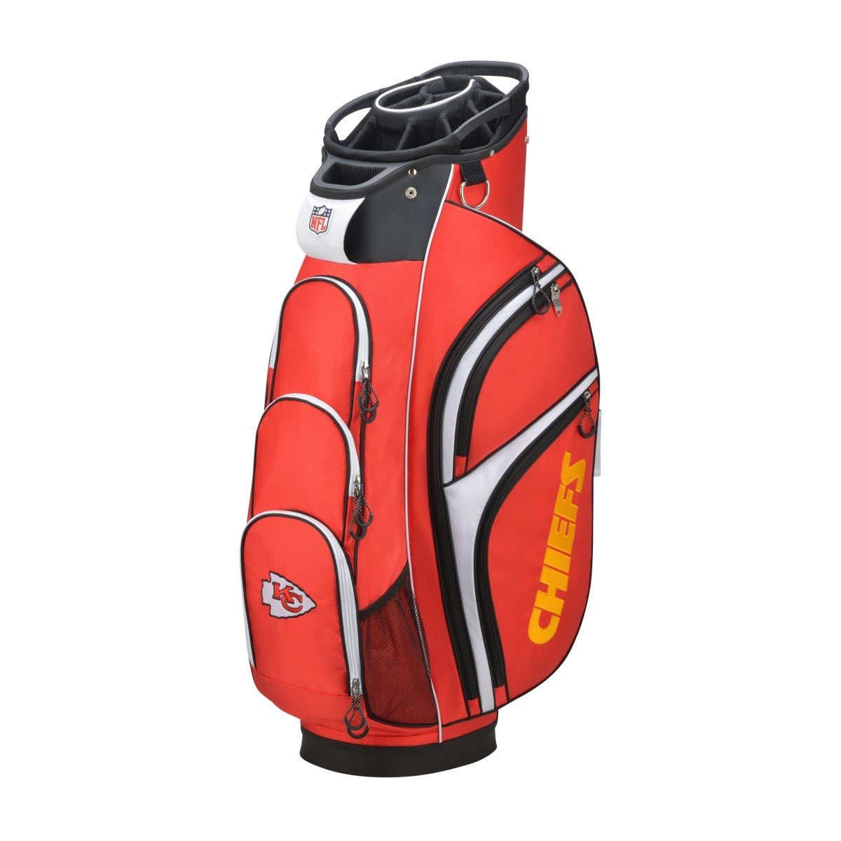 6a1a37d4 Wilson NFL Cart Golf Bag - Kansas City Chiefs | Wilson Sporting Goods