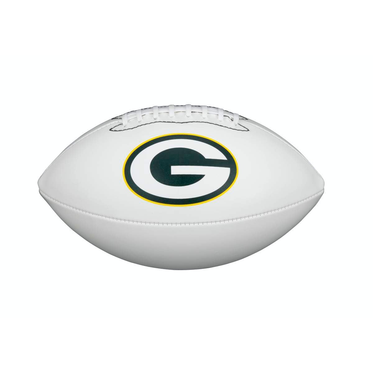 NFL TEAM LOGO AUTOGRAPH FOOTBALL - OFFICIAL, GREEN BAY PACKERS