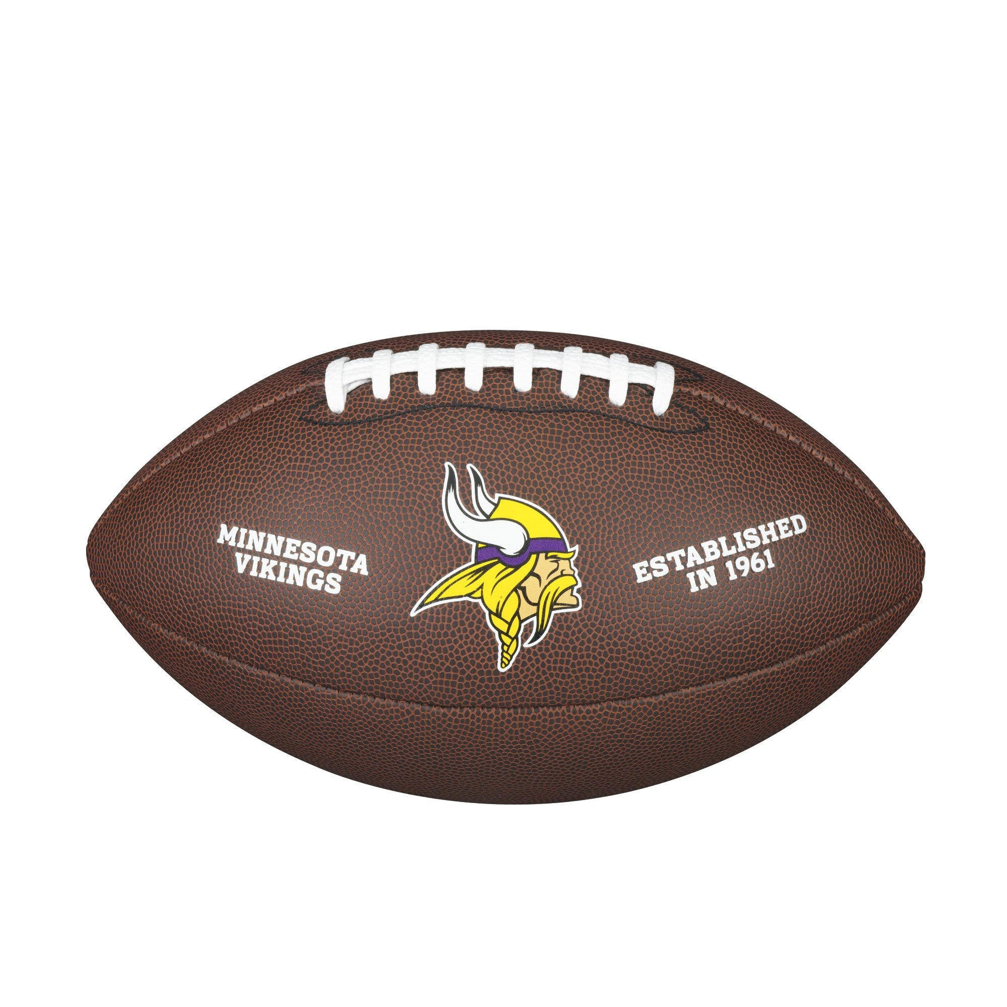 NFL Team Logo Composite Football - Minnesota Vikings