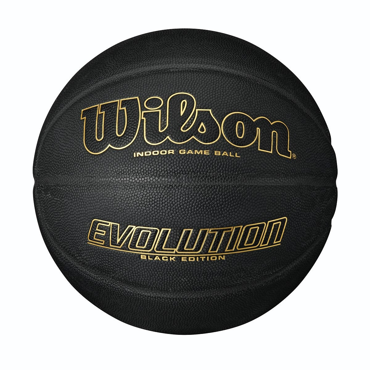 EVOLUTION BLACK EDITION GAME BASKETBALL - GOLD, OFFICIAL SIZE (29.5 IN)