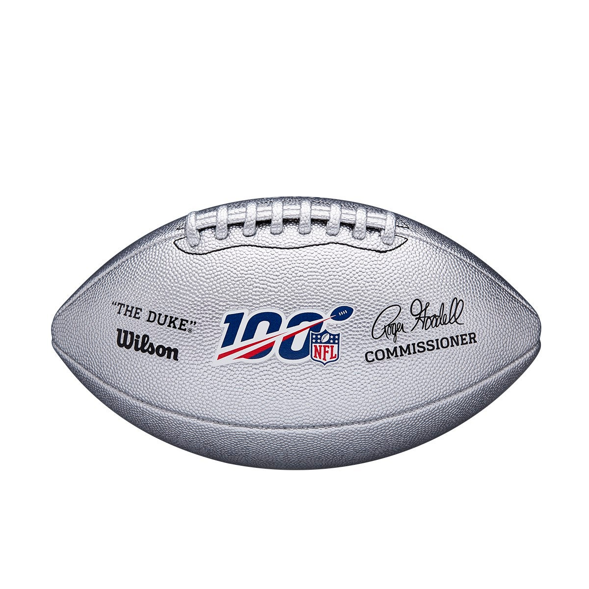 NFL 100 The Duke Metallic Football