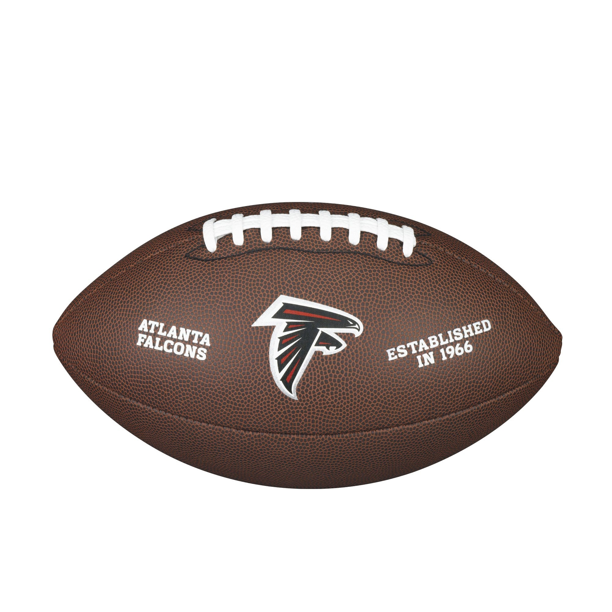 NFL TEAM LOGO COMPOSITE FOOTBALL - OFFICIAL, ATLANTA FALCONS