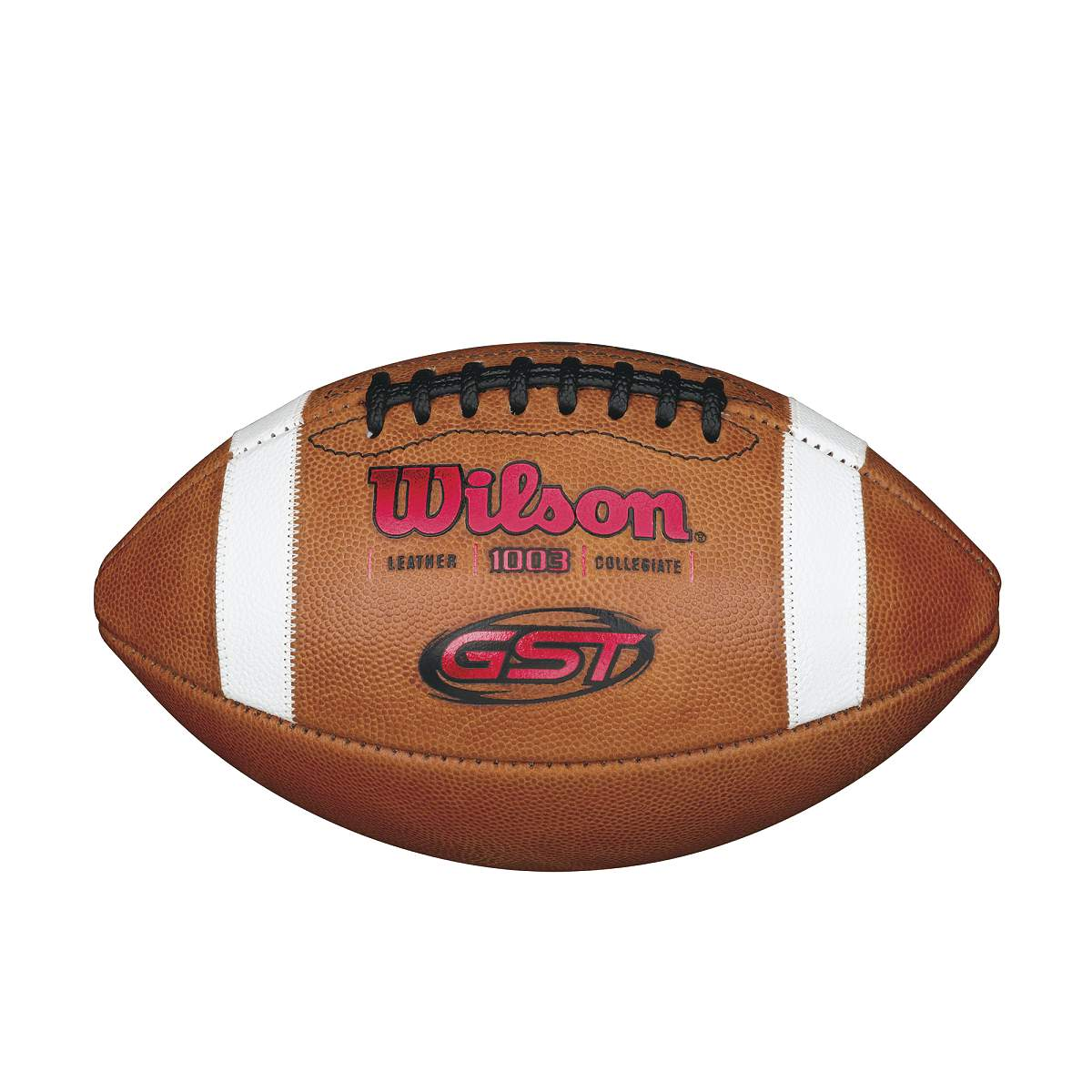 GST NCAA 1003 Official Collegiate Pattern Football - Red