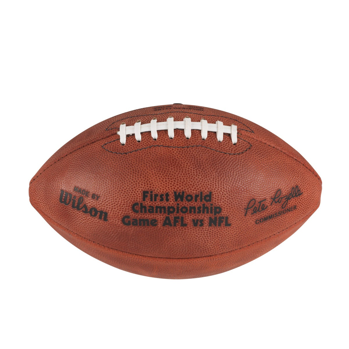 Nfl Super Bowl I Leather Game Football Pro Pattern