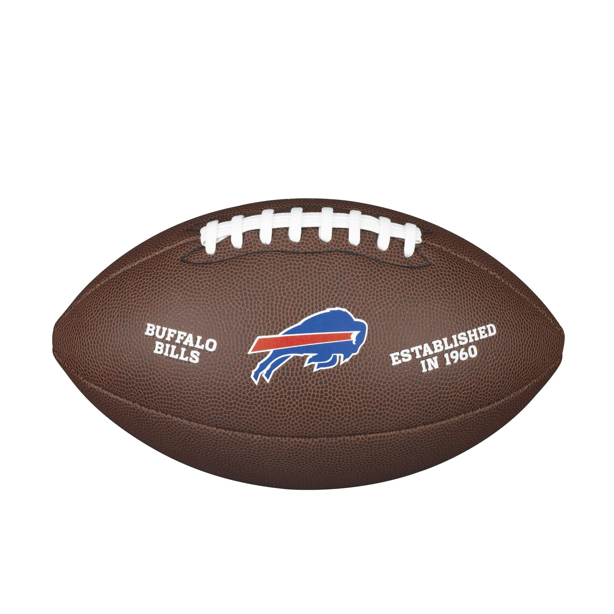 NFL TEAM LOGO COMPOSITE FOOTBALL - OFFICIAL, BUFFALO BILLS