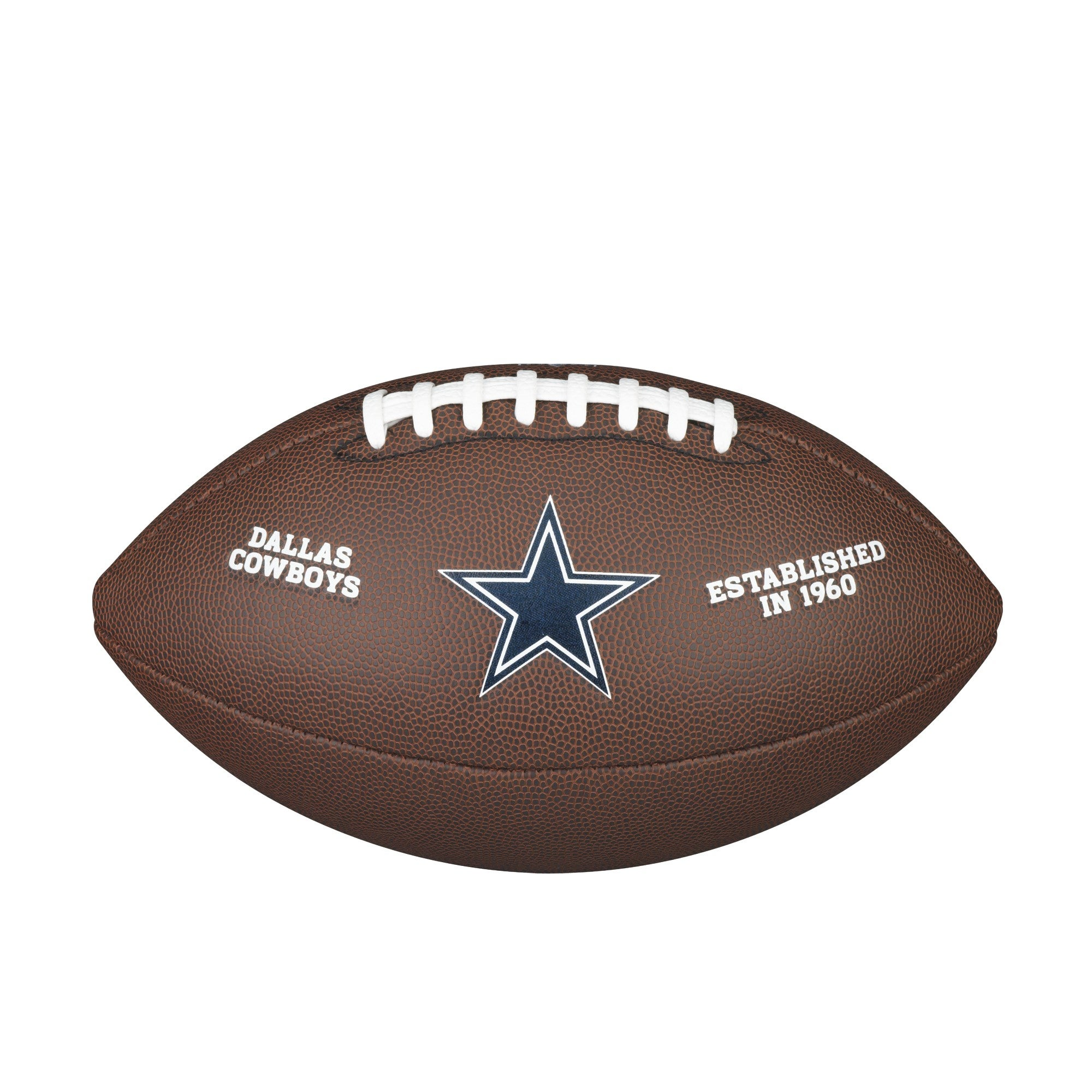 NFL TEAM LOGO COMPOSITE FOOTBALL - OFFICIAL, DALLAS COWBOYS