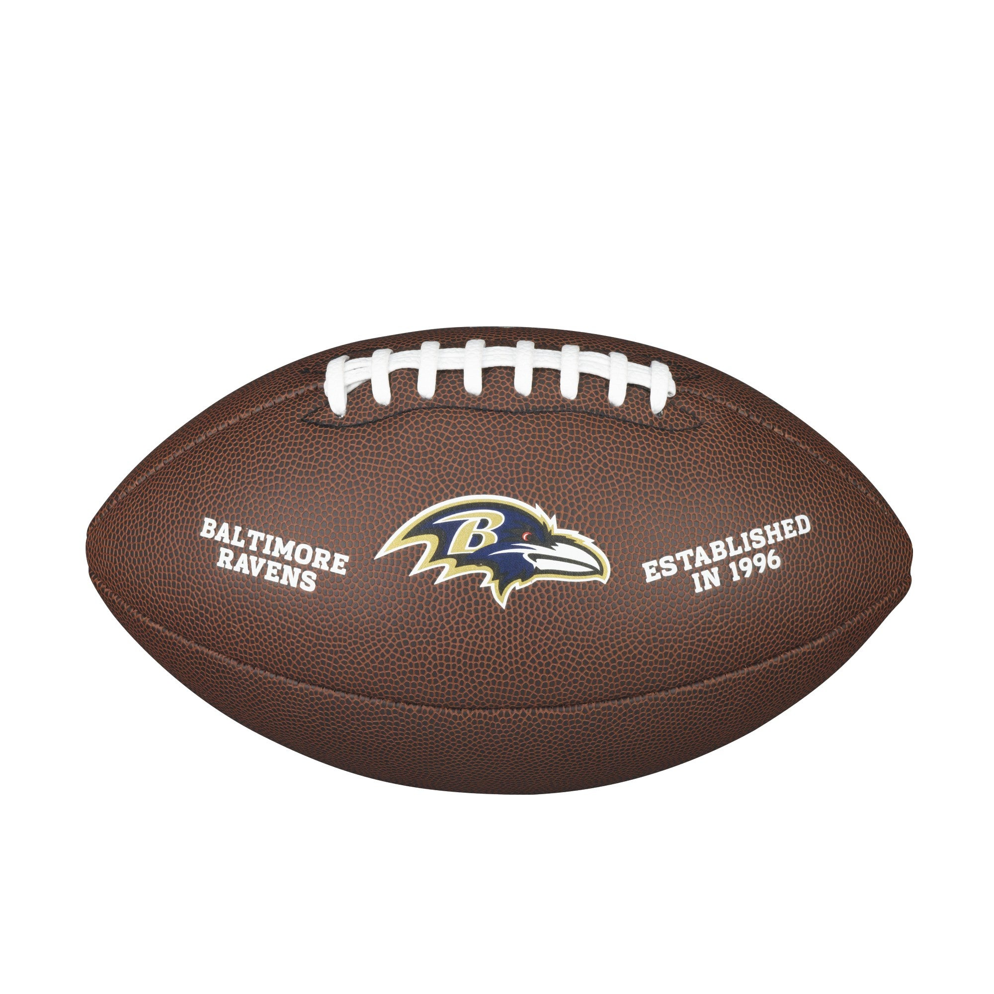 NFL TEAM LOGO COMPOSITE FOOTBALL - OFFICIAL, BALTIMORE RAVENS