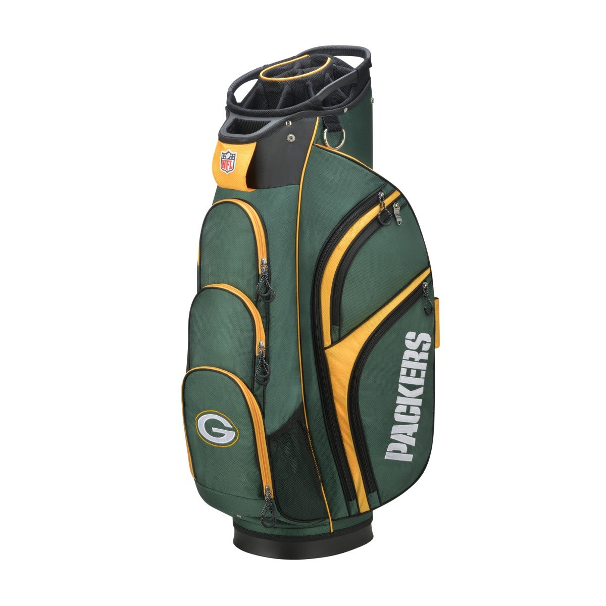 Wilson NFL Cart Golf Bag - Green Bay Packers
