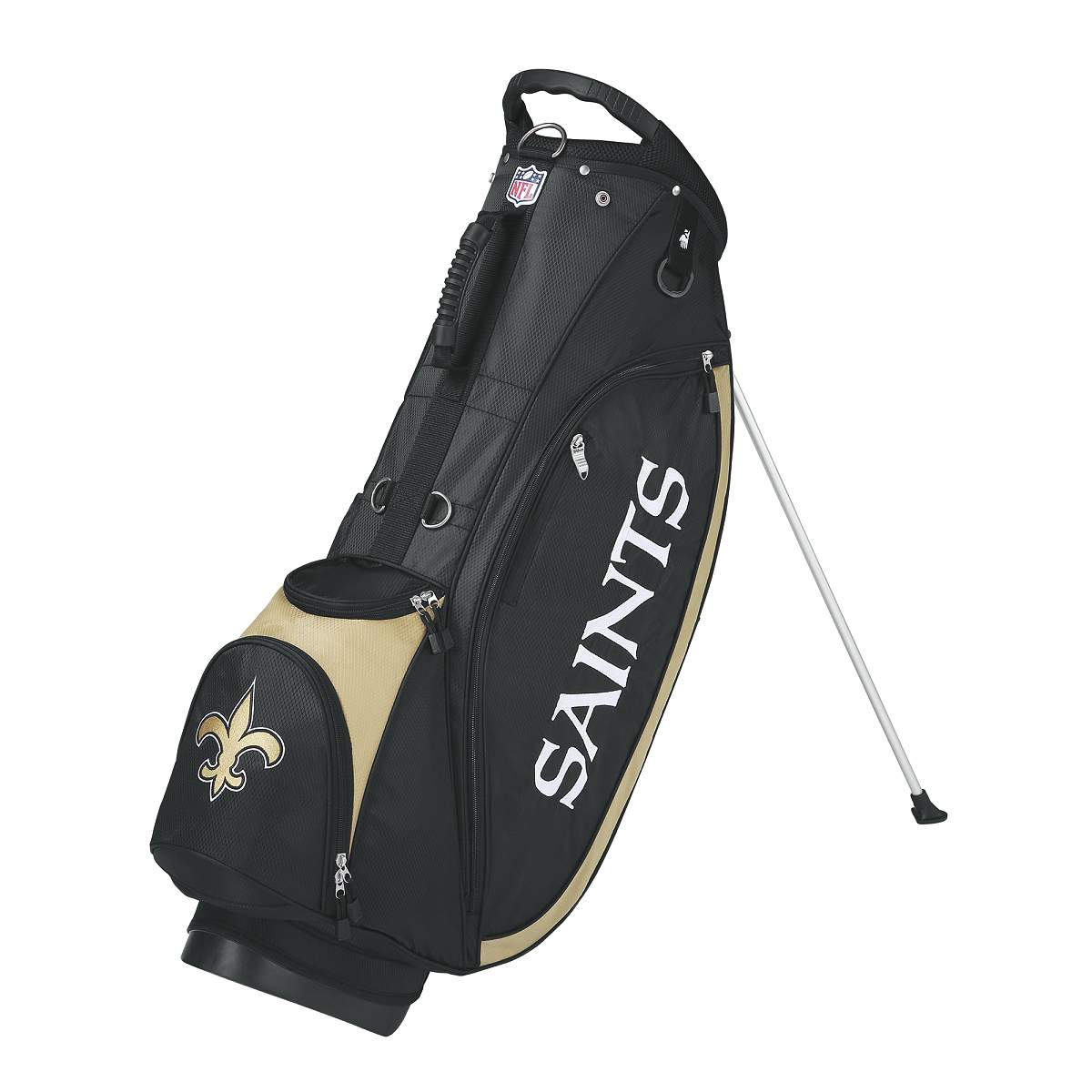 Wilson NFL Carry Golf Bag - New Orleans Saints