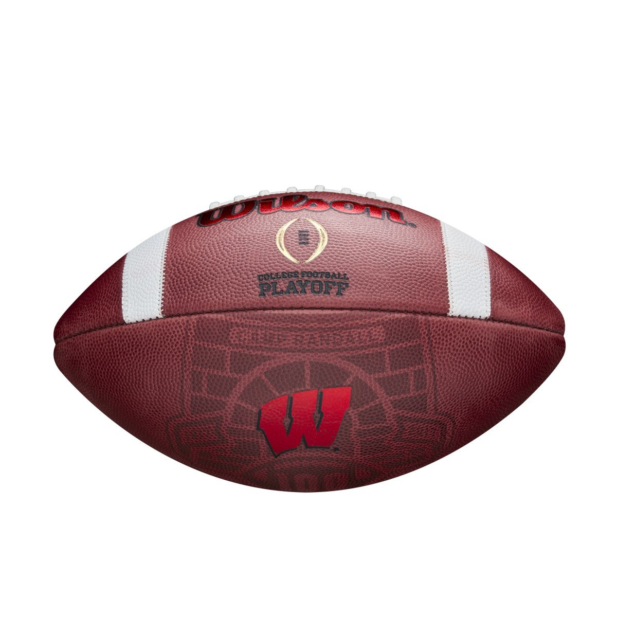 ? College Football Playoff Football - Wisconsin State Watermark