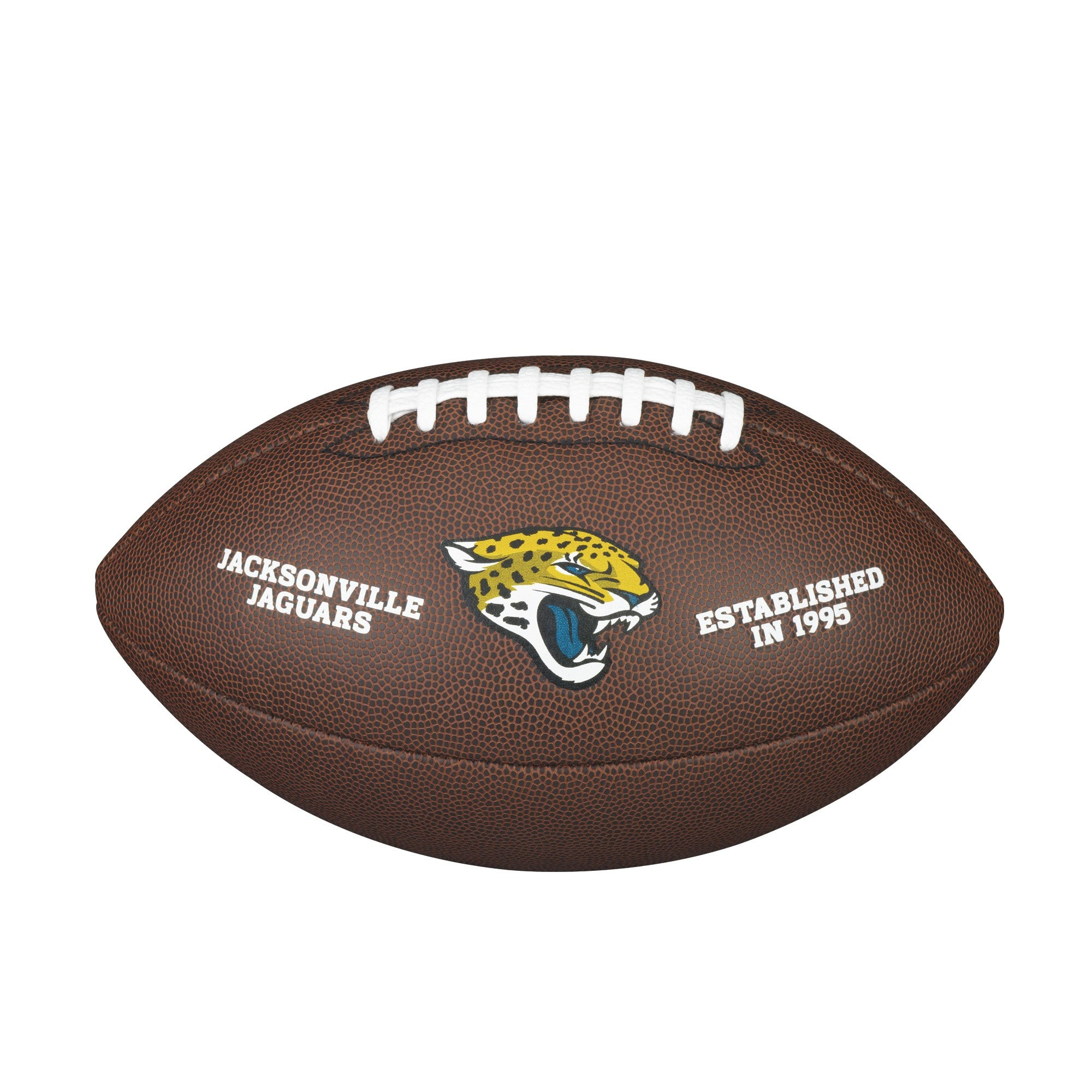 NFL TEAM LOGO COMPOSITE FOOTBALL - OFFICIAL, JACKSONVILLE JAGUARS
