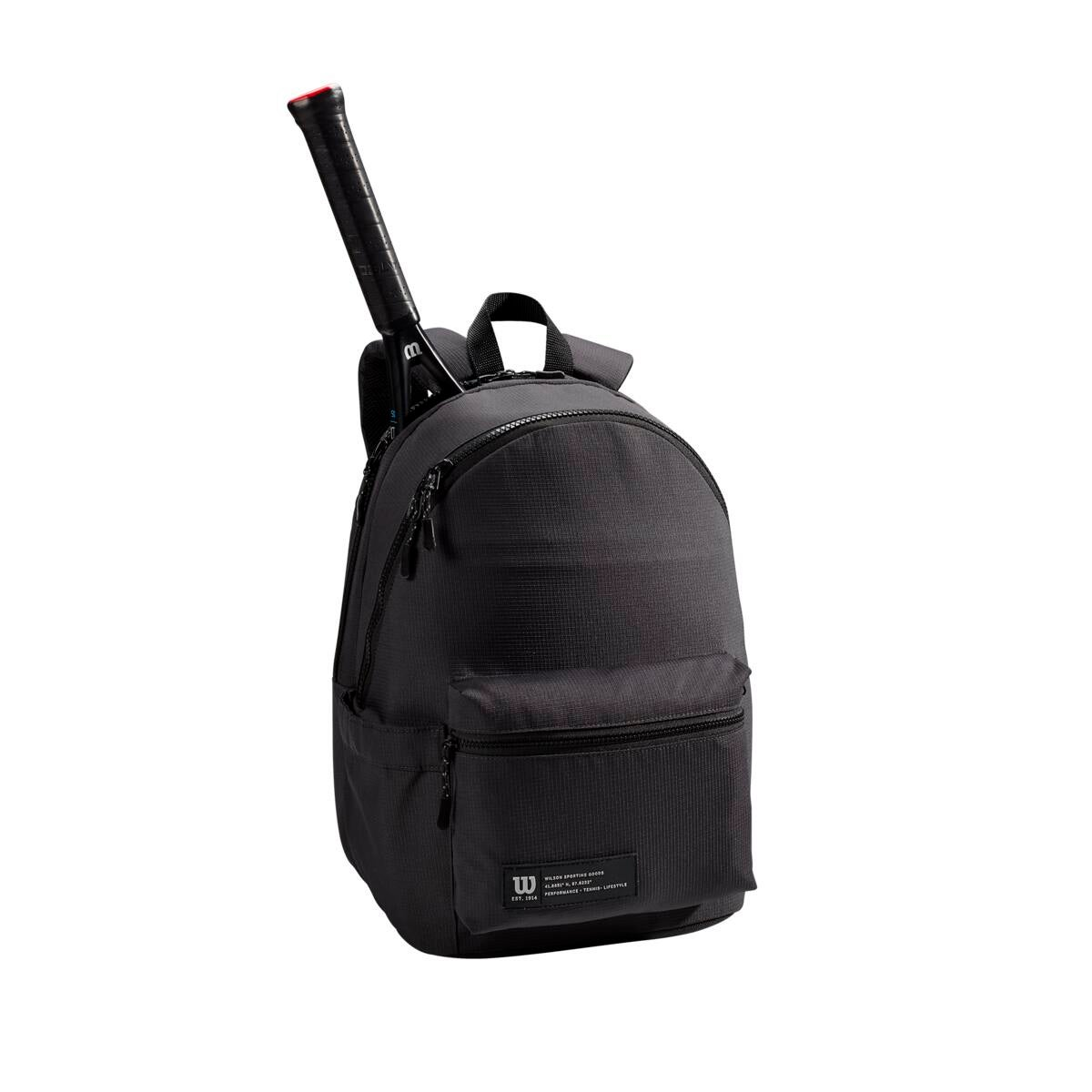 Holds up to 2 Rackets Wilson Work//Play Tennis Backpack Black WR8011901001