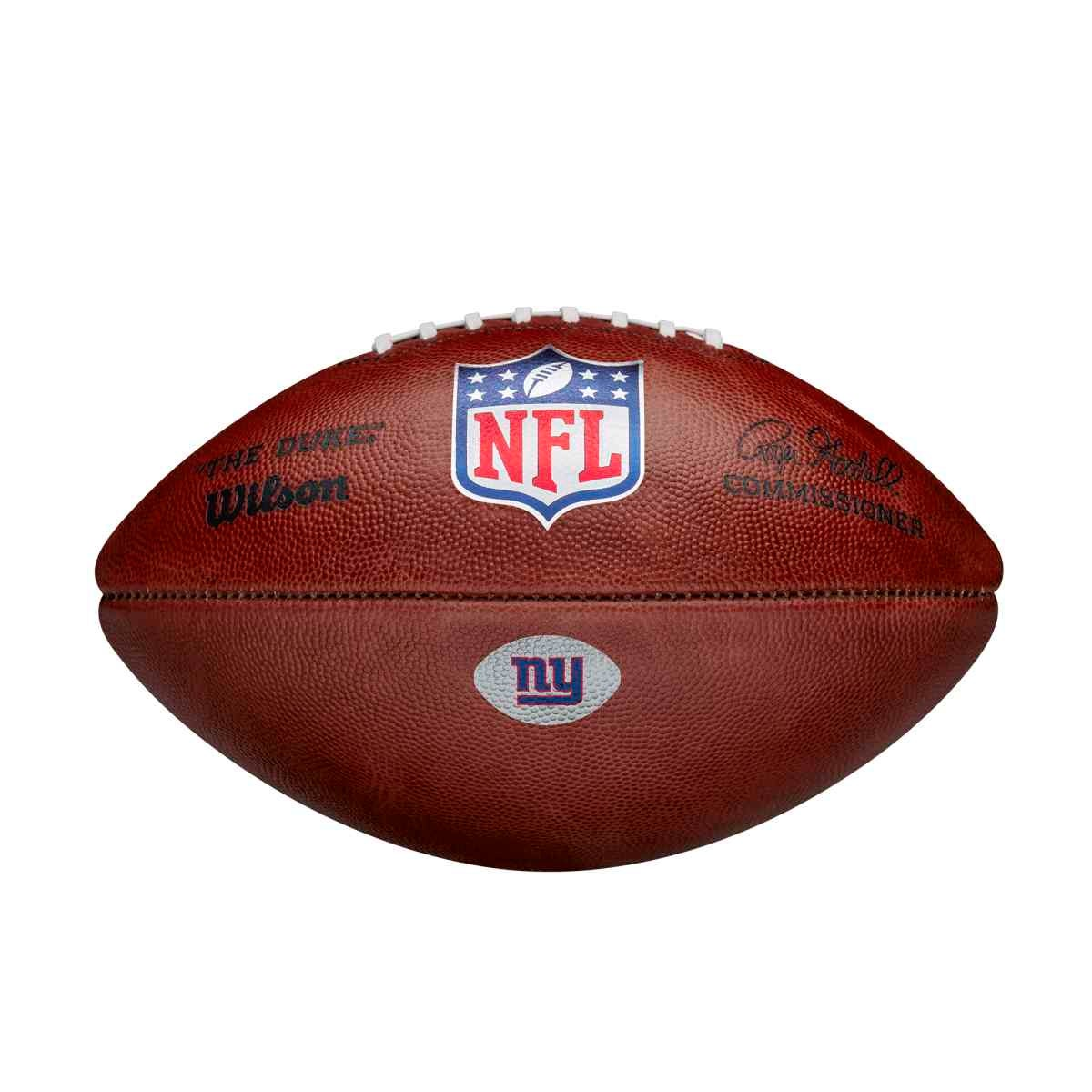 The Duke Decal NFL Football - New York Giants