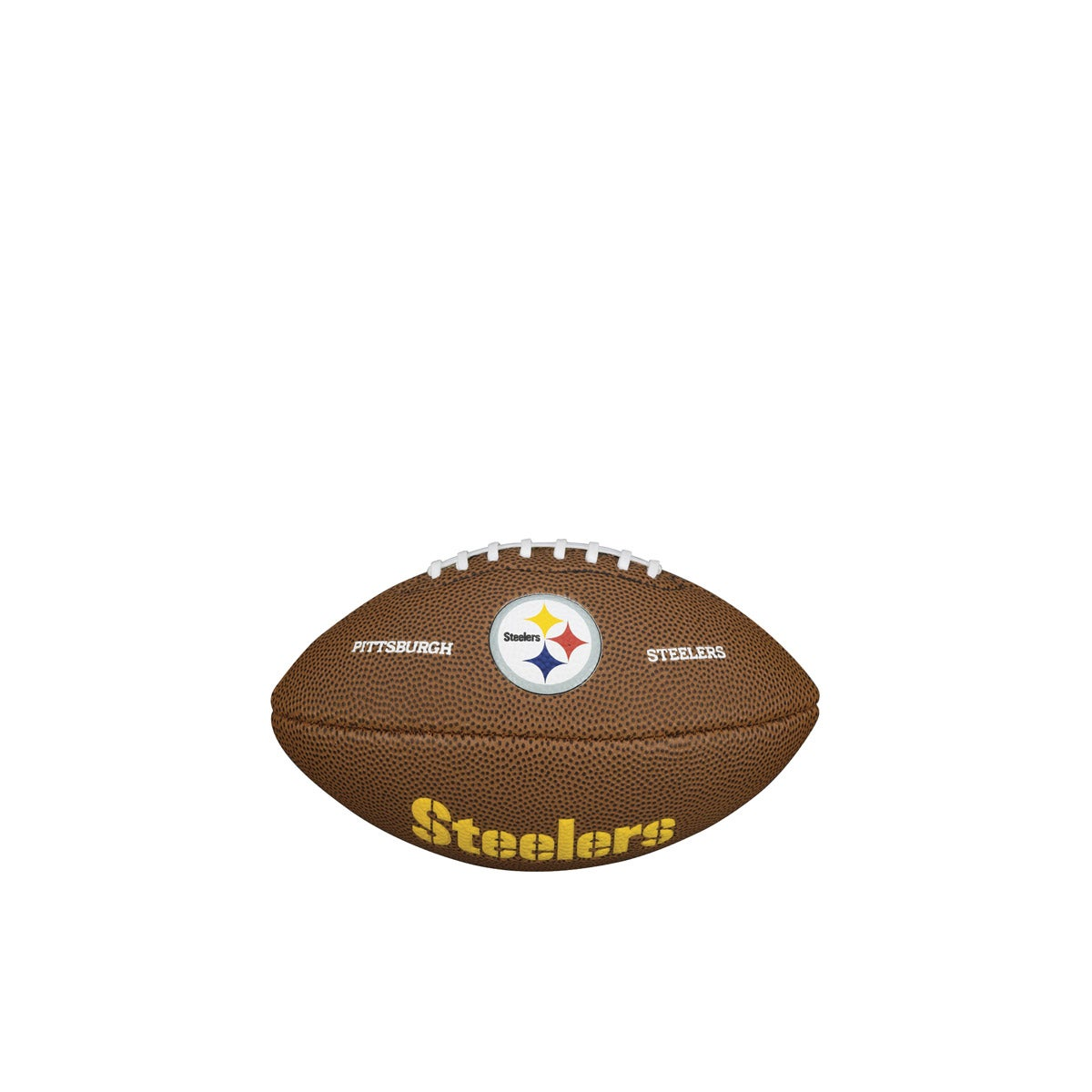 ? NFL TEAM LOGO MINI SIZE FOOTBALL - PITTSBURGH STEELERS
