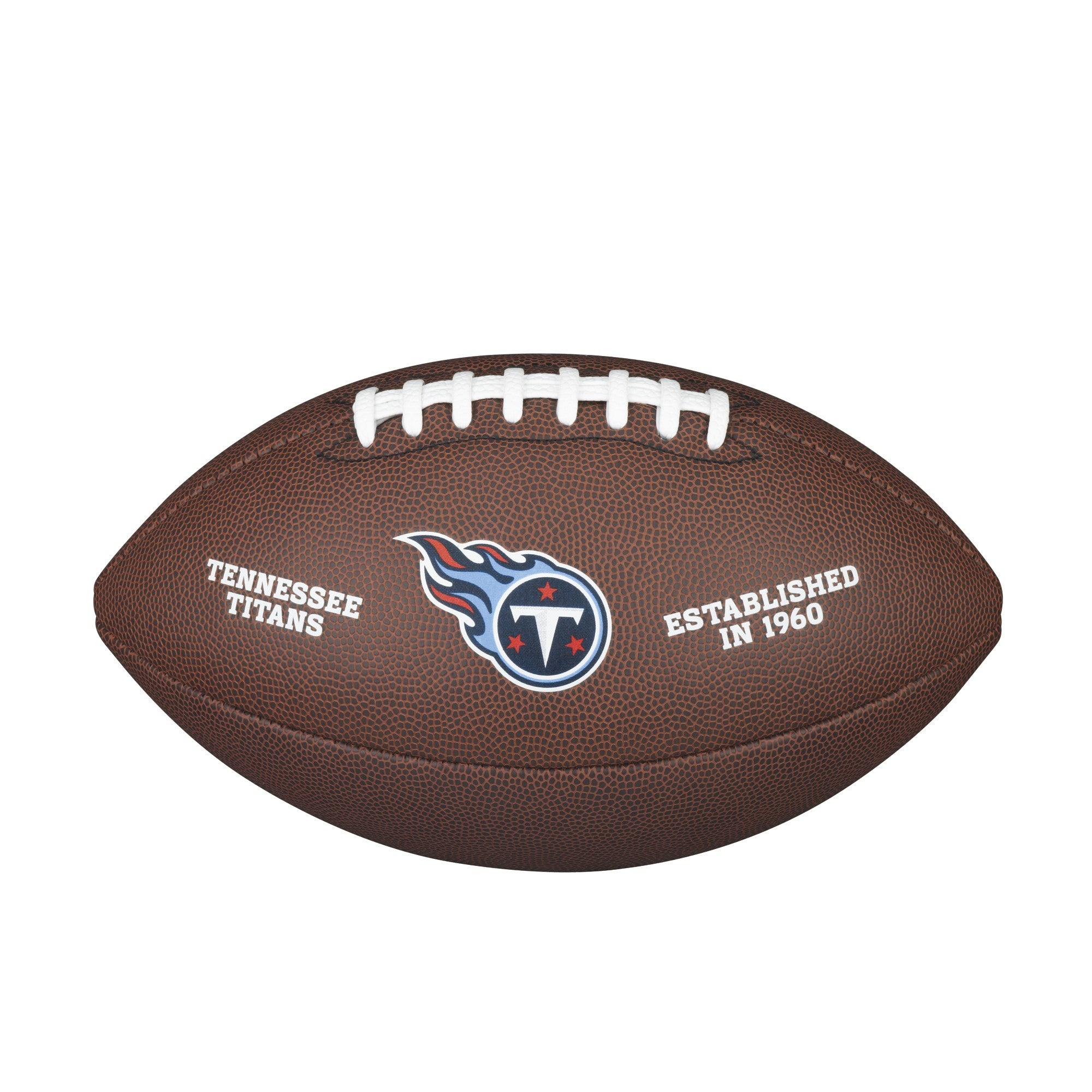 NFL TEAM LOGO COMPOSITE FOOTBALL - OFFICIAL, TENNESSEE TITANS