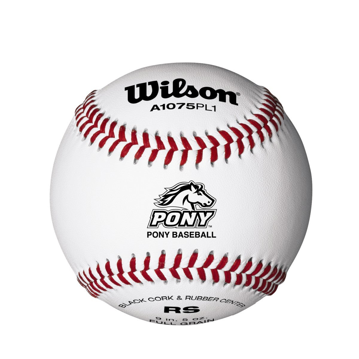 A1075 League Series Pony Baseballs