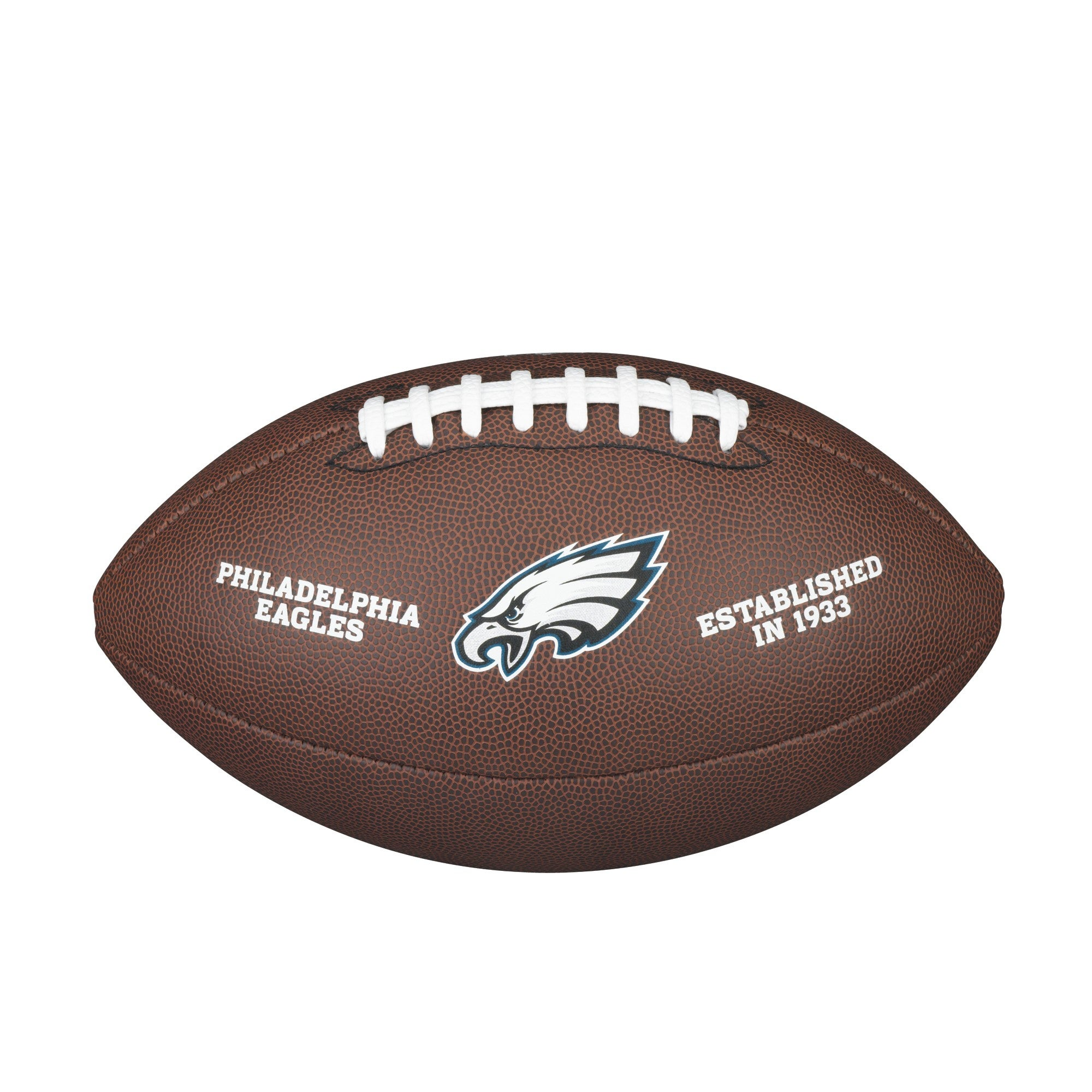 NFL TEAM LOGO COMPOSITE FOOTBALL - OFFICIAL, PHILADELPHIA EAGLES