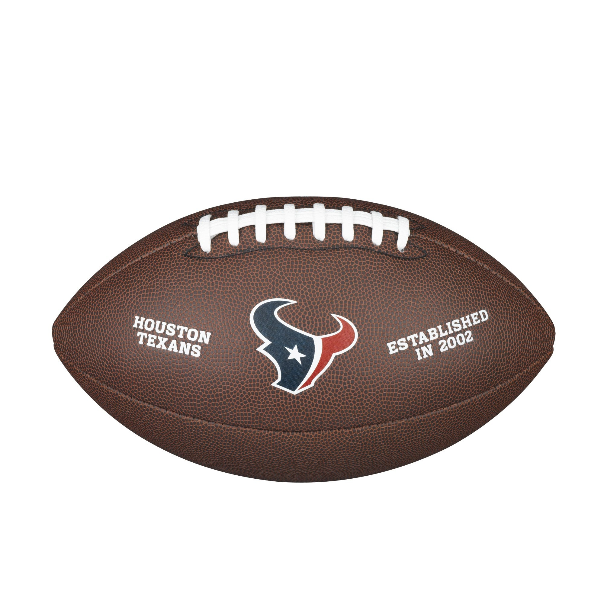 NFL TEAM LOGO COMPOSITE FOOTBALL - OFFICIAL, HOUSTON TEXANS