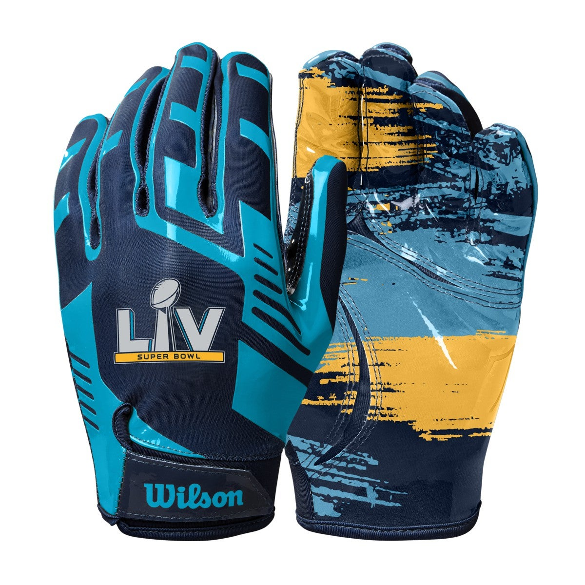 Super Bowl LV Stretch Fit Youth Receivers Gloves