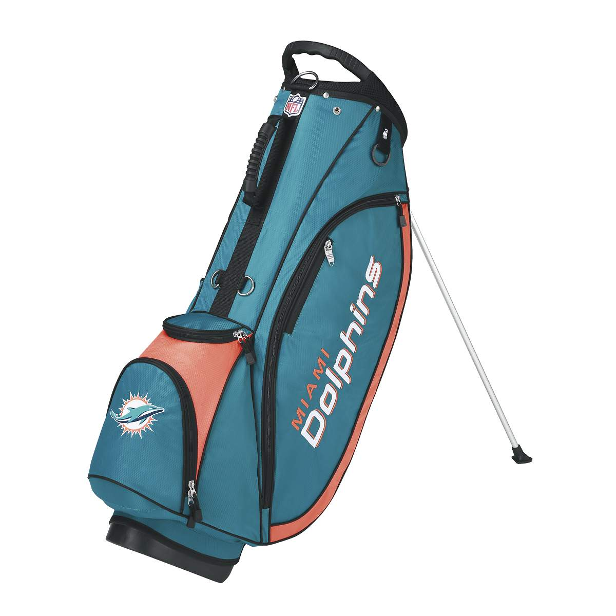 Wilson NFL Carry Golf Bag - Miami Dolphins