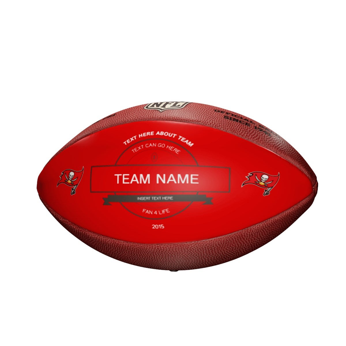 Personalized NFL Tampa Bay Buccaneers Ultimate Fan Football
