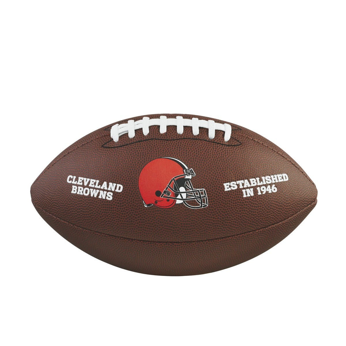NFL TEAM LOGO COMPOSITE FOOTBALL - OFFICIAL, CLEVELAND BROWNS