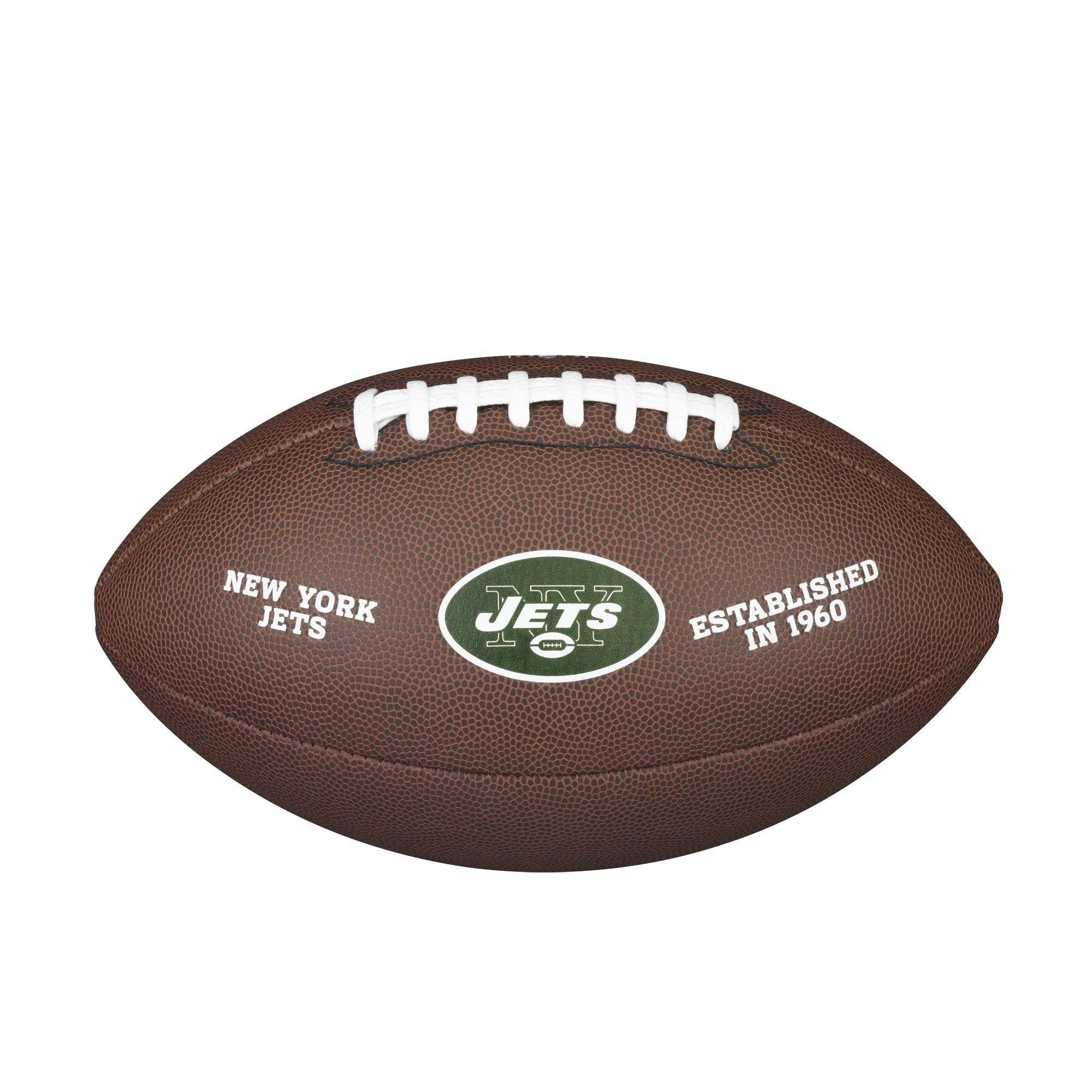 NFL TEAM LOGO COMPOSITE FOOTBALL - OFFICIAL, NEW YORK JETS