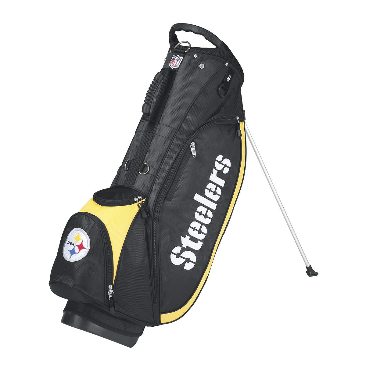 Wilson NFL Carry Golf Bag - Pittsburgh Steelers