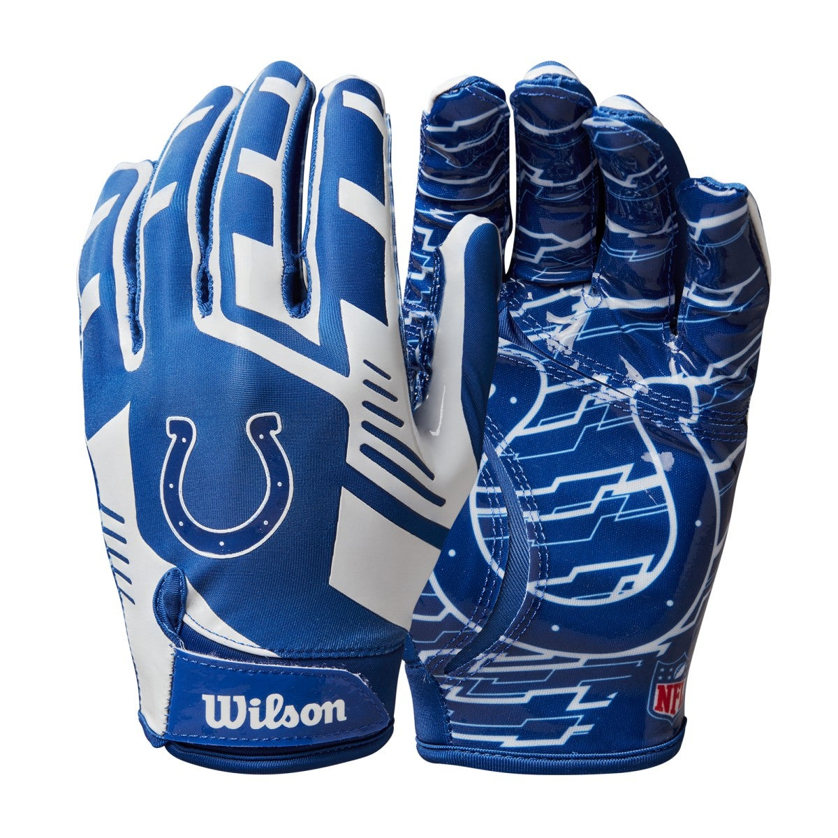 NFL Stretch Fit Receivers Gloves - Indianapolis Colts