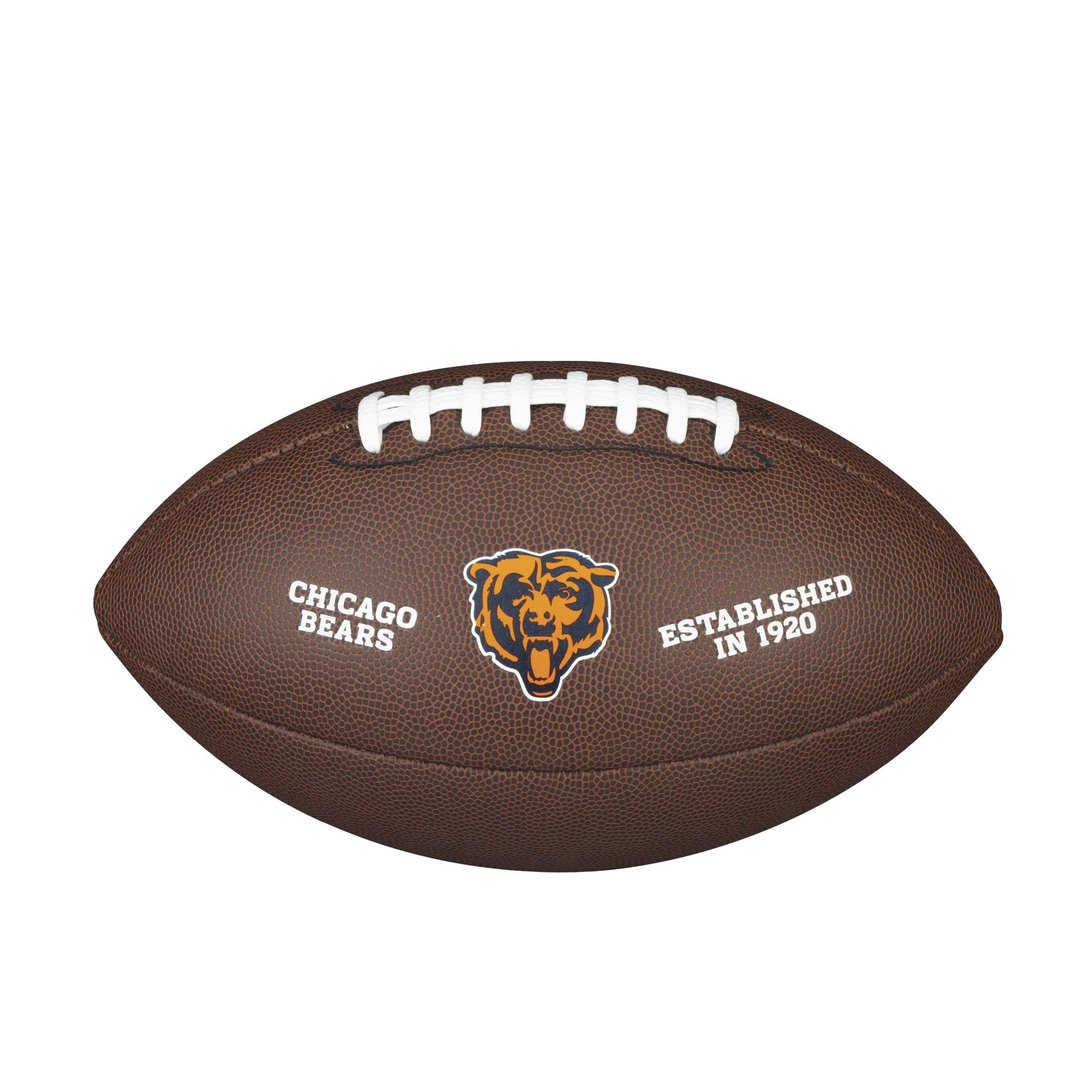 NFL TEAM LOGO COMPOSITE FOOTBALL - OFFICIAL, CHICAGO BEARS