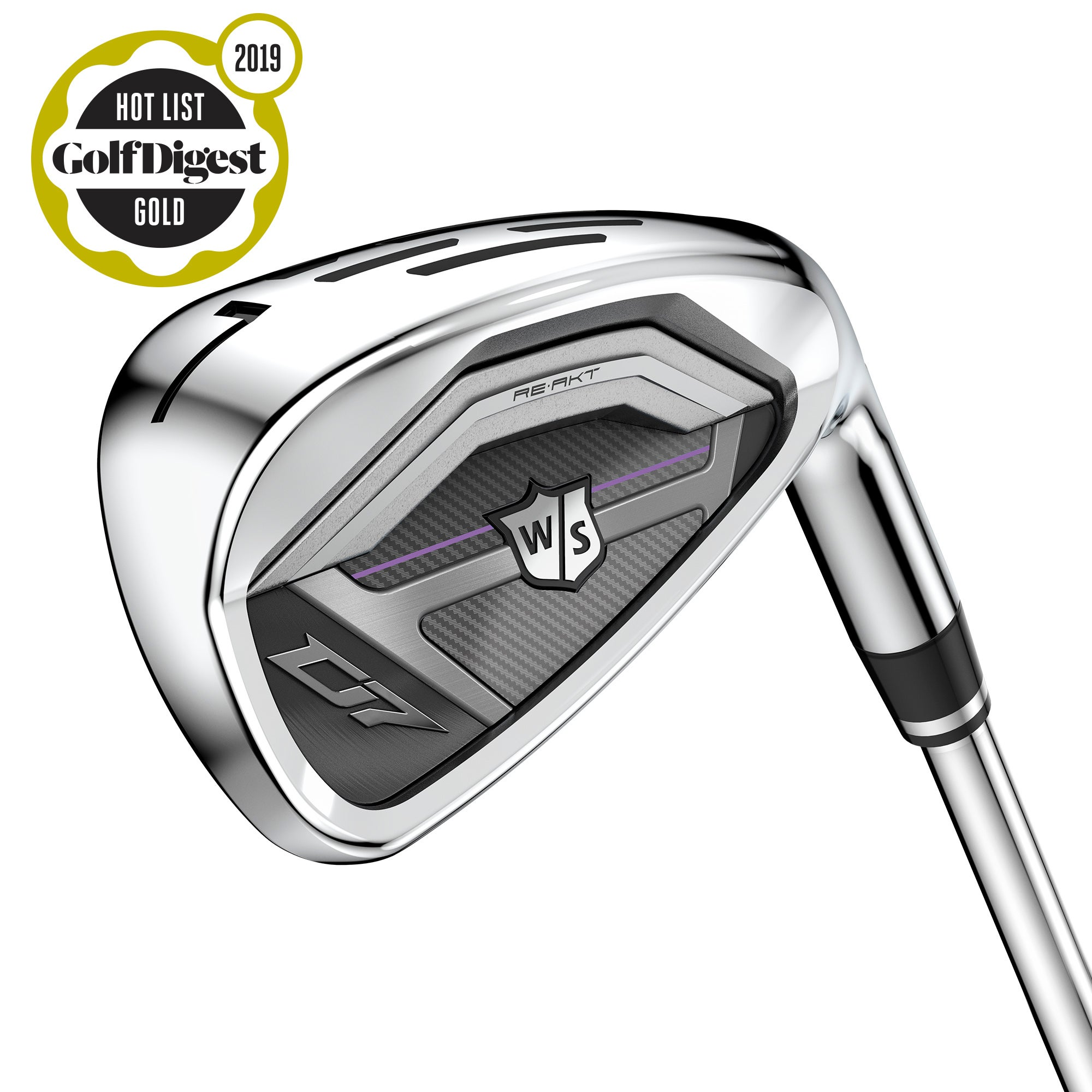Wilson Staff D7 Women's Irons - Graphite, 5-PW, GW, RH