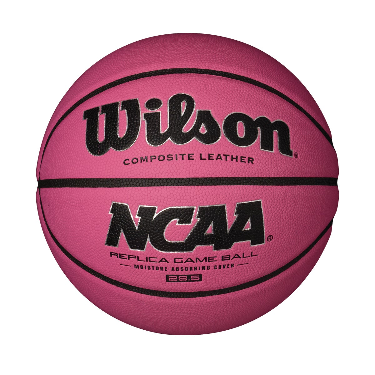NCAA PINK BASKETBALL - REPLICA SIZE (28.5 IN)