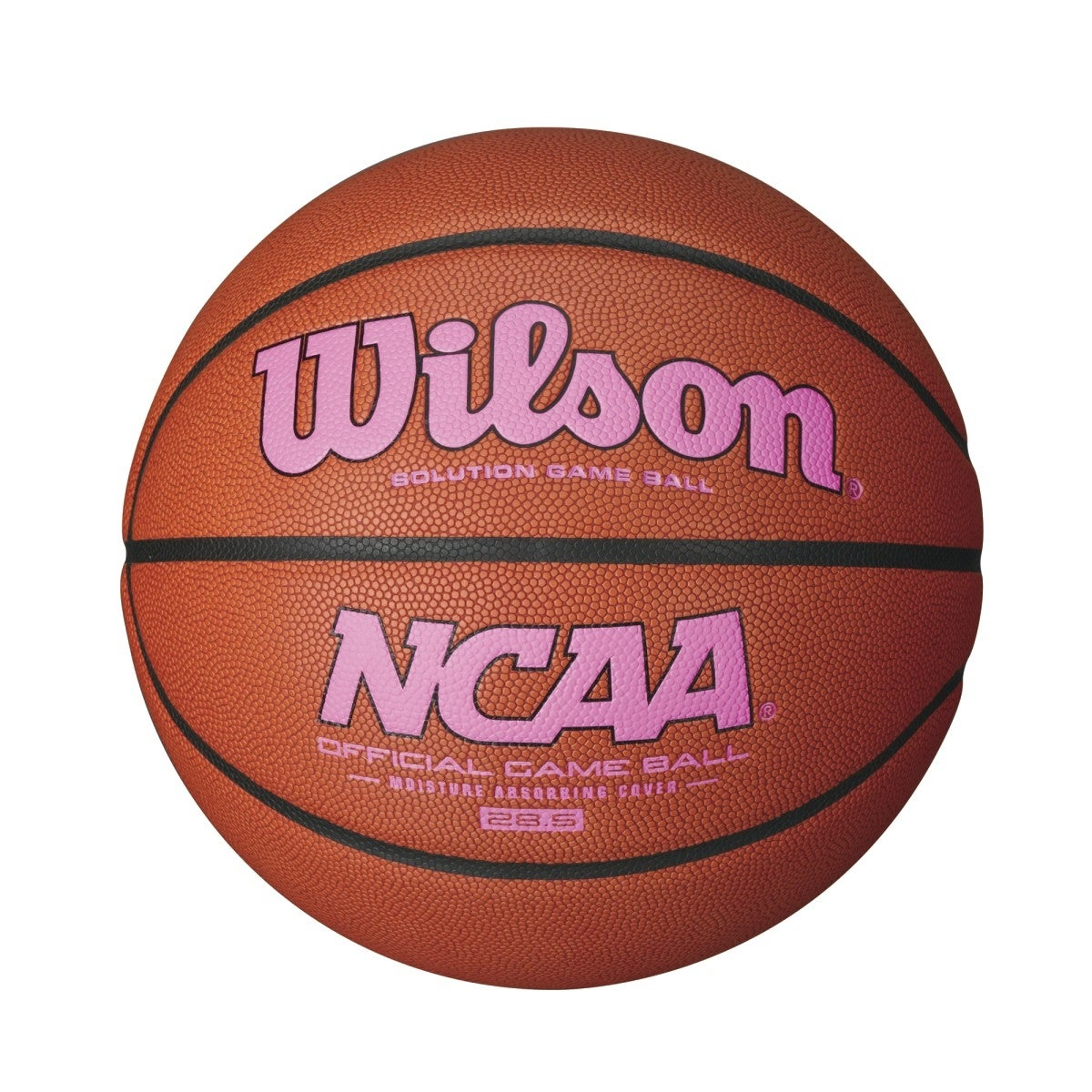 NCAA OFFICIAL PINK GAME BASKETBALL | Wilson Sporting Goods
