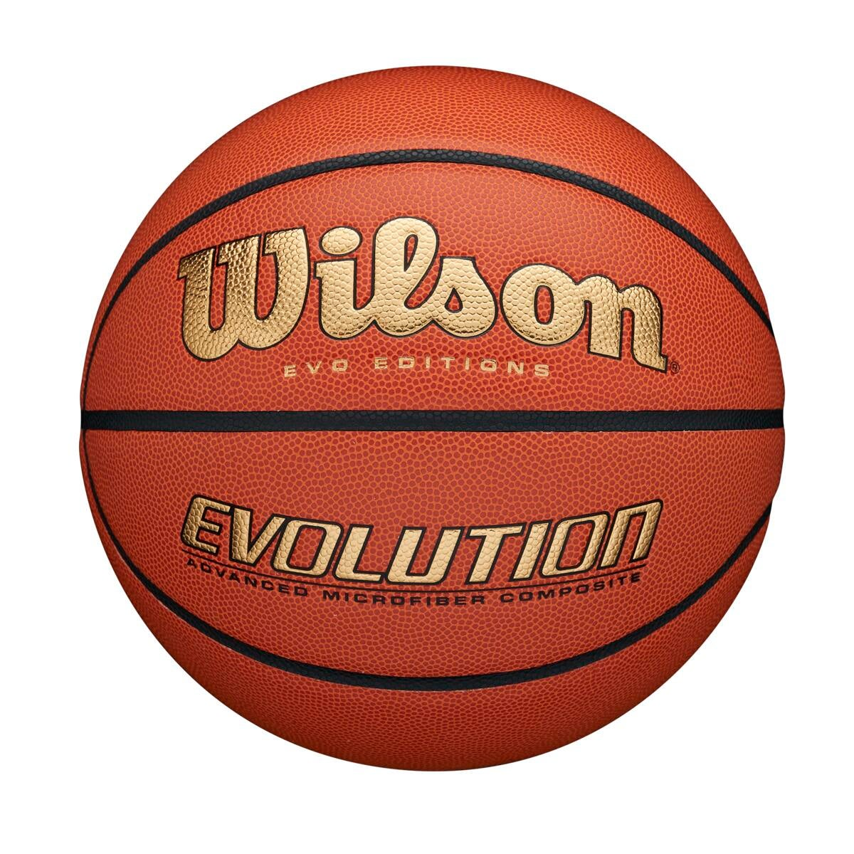 Evo Editions Gold Basketball