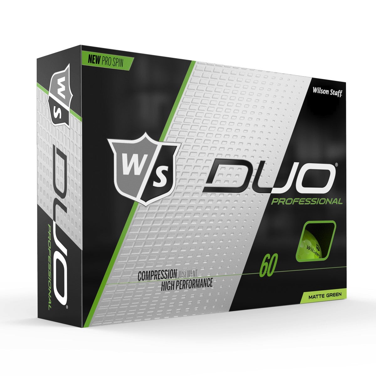 Wilson Staff Duo Pro Green Matte Golf Balls