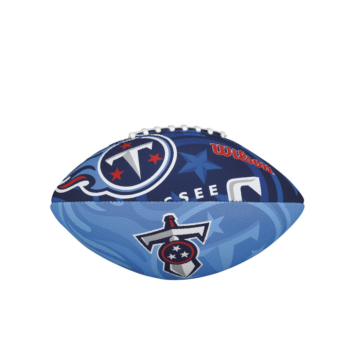 NFL TEAM LOGO JUNIOR SIZE FOOTBALL - TENNESSEE TITANS