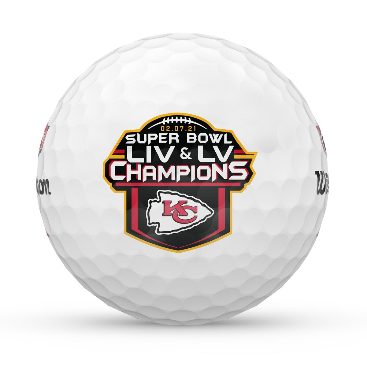 Tampa Bay Buccaneers - DUO Soft+ Super Bowl Championship Golf Balls (12-pack)