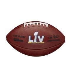 Super Bowl LV Leather Game Football