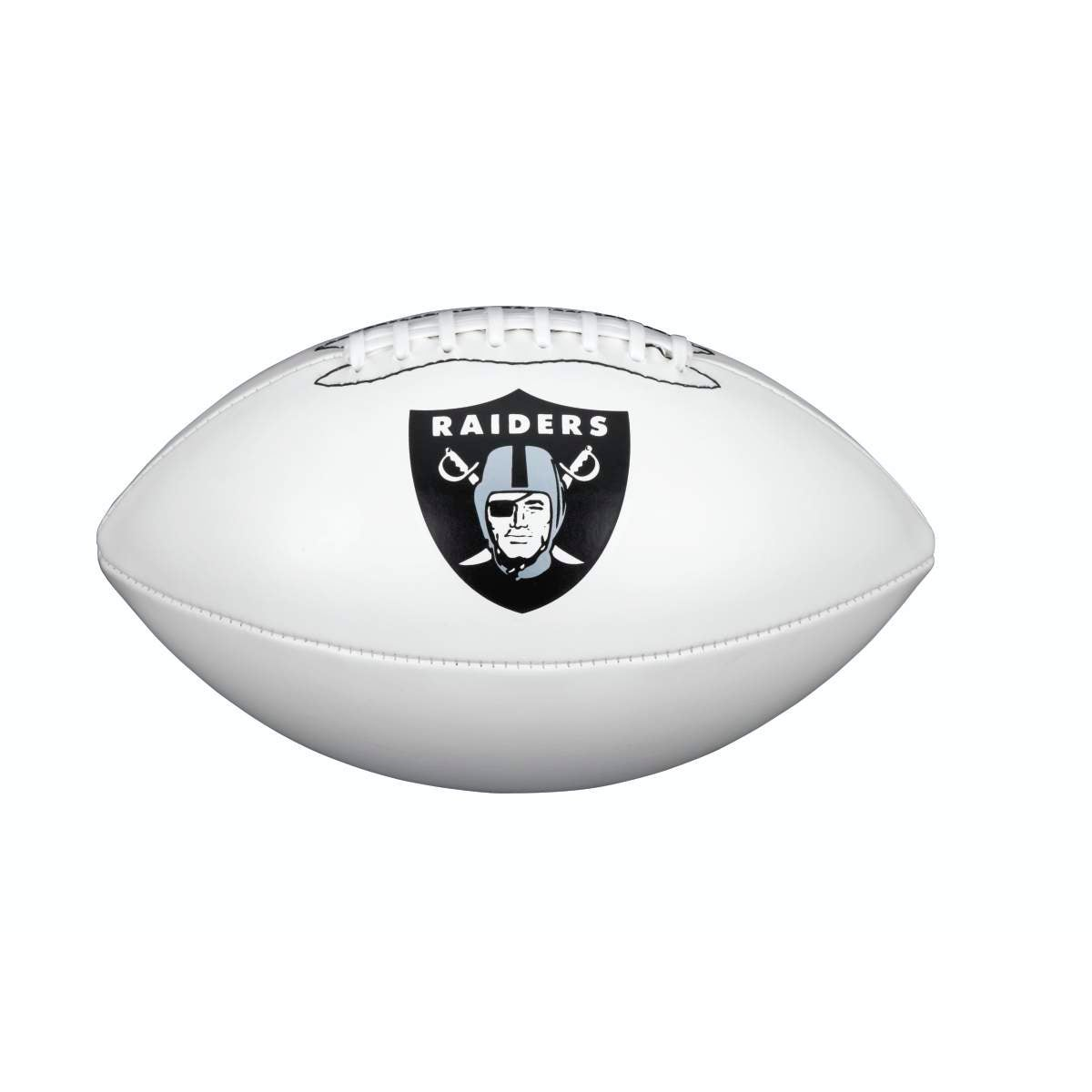 ? NFL TEAM LOGO AUTOGRAPH FOOTBALL - OFFICIAL, LAS VEGAS RAIDERS