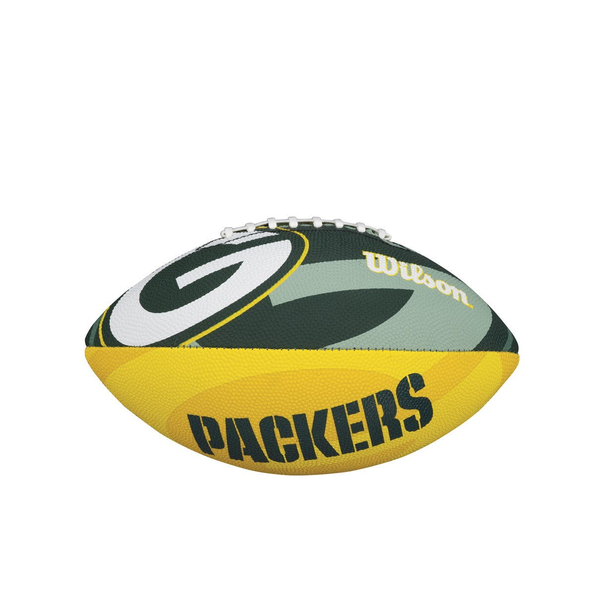 NFL TEAM LOGO JUNIOR SIZE FOOTBALL - GREEN BAY PACKERS