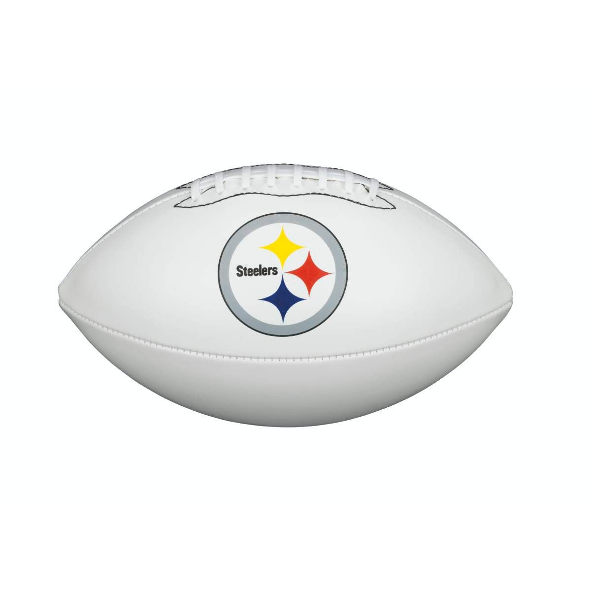 NFL TEAM LOGO AUTOGRAPH FOOTBALL - OFFICIAL, PITTSBURGH STEELERS