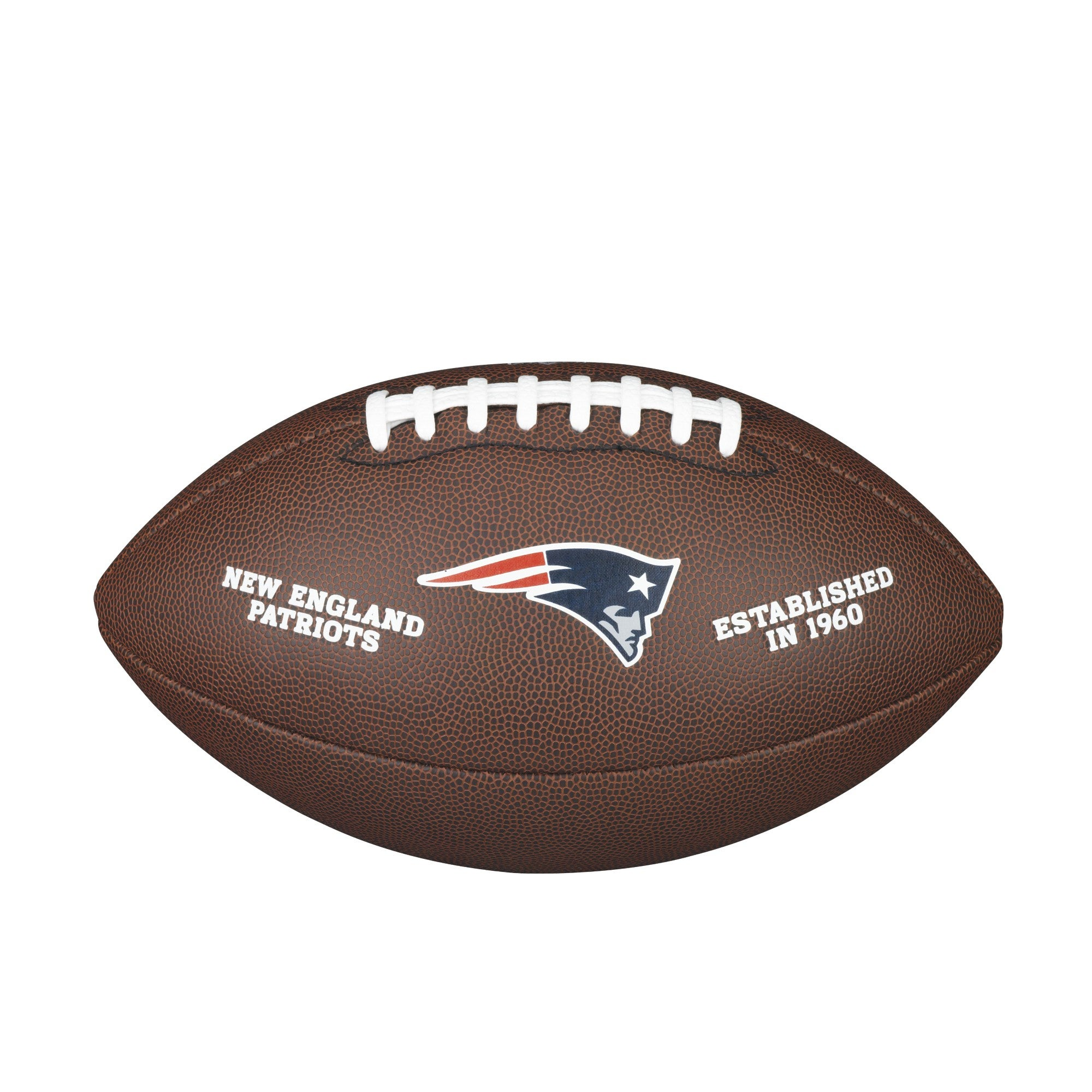 NFL TEAM LOGO COMPOSITE FOOTBALL - OFFICIAL, NEW ENGLAND PATRIOTS