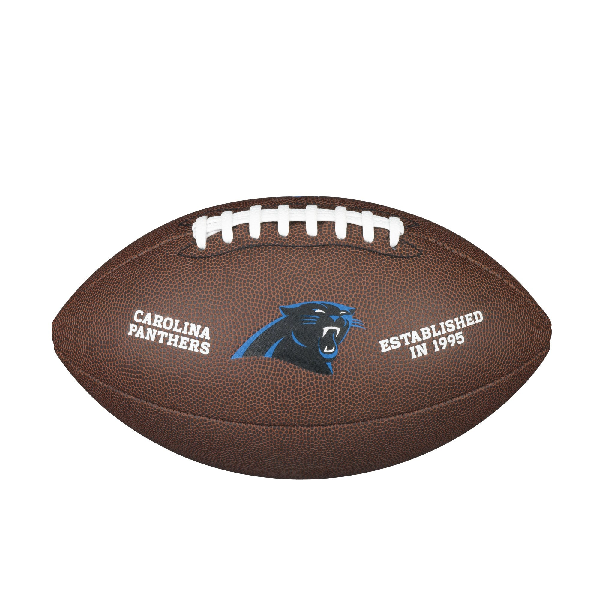 NFL TEAM LOGO COMPOSITE FOOTBALL - OFFICIAL, CAROLINA PANTHERS