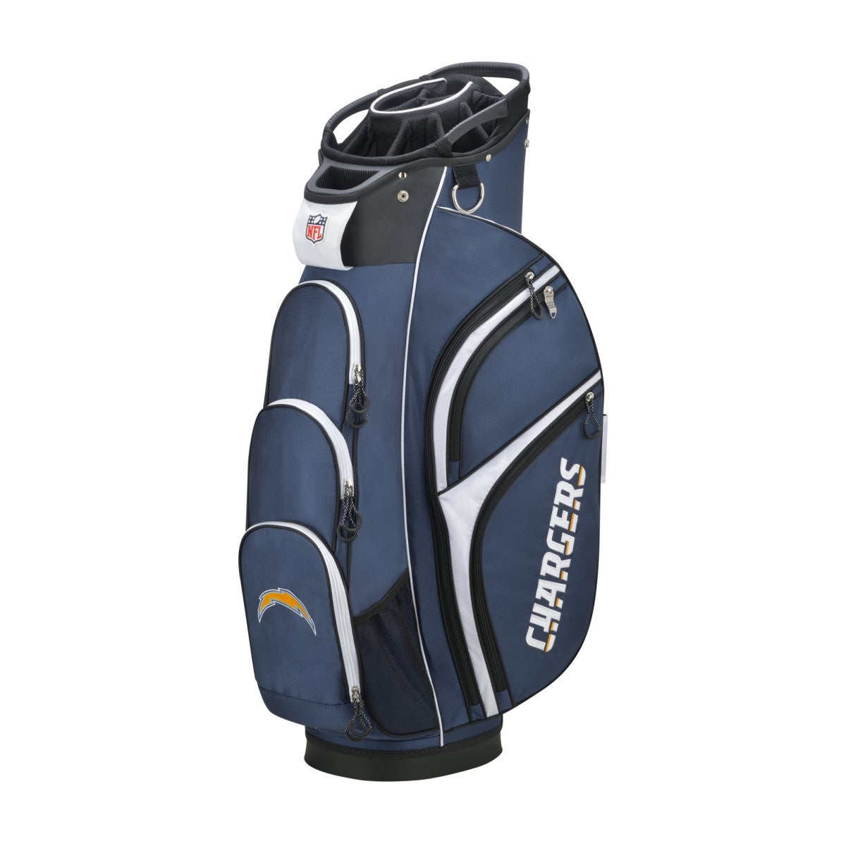 San Diego Chargers Backpack: Wilson NFL Cart Golf Bag - Los Angeles Chargers